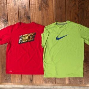 2/$20 Nike DRI-FIT Performance Jersey Tee
